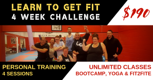 Advert of the Learn To Get Fit - 4 Week Challenge